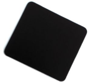 Black Mouse mat - 6mm Neoprene with Cloth Surface - Free Postage